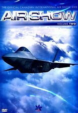 The Official Canadian International Air Show(NEW DVD)F16/F22/CF18/ SNOWBIRDS/
