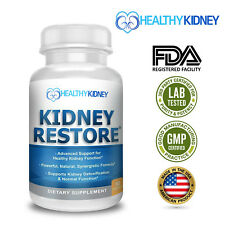 KIDNEY RESTORE KIDNEY HEALTH CLEANSE SUPPORT DETOX NATURAL SUPPLEMENT FREE SHIP