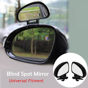 Wide Angle Blind Spot Mirror Rear View Auxiliary Mirror Sfety Blind Spot Miror