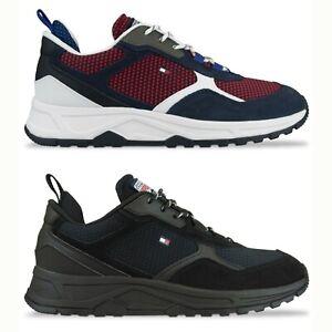 Tommy Hilfiger Trainers - Tommy Hilfiger Fashion Mix Sneaker - Black, Desert Sky