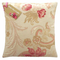 Vintage/Shabby Chic Laura Ashley Baroque Red fabric Cushion Cover