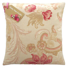 Vintage/shabby Chic Laura Ashley Baroque Red Fabric Cushion Cover 16x16 Same as Front