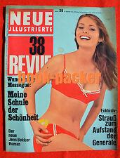 NEUE REVUE 1966 Nr. 38 (18.9.66): Londoner Playboy-Club entlässt Bunnys