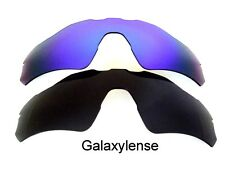 Galaxy Replacement Lenses For Oakley Radar EV Path Sunglasses Black&Blue