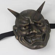 Horror Small Mask Vintage Japanese Buddhist Evil Oni Noh Hannya Mask Xmas Gift