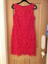 RED LACE DRESS-WALLIS❣️SIZE 10🌟BRAND NEW WITH TAGS
