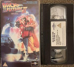 BACK TO THE FUTURE 2-SCI FI/COMEDY-VHS VIDEO SMALL BOX/UNIVERSAL VIDEO.