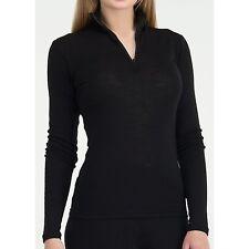 NEW Icebreaker Everyday Zip Neck Base Layer Top - UPF 30+, - Women's Small  Wool