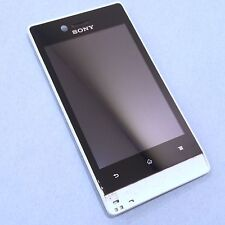 100% ORIGINALE SONY XPERIA MIRO ST23i FRONT + Digitizer Touch Screen + LCD Display