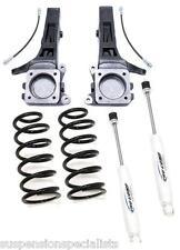 """07+ Toyota FJ CRUISER 4""""+3"""" Lift Kit Spindles Springs Shocks"""