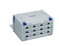 Tano Systainer T-Loc III SYS TL 3 Lichtgrau 80100003 flottante avec Festool BTI