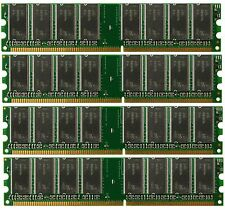 4GB (4x 1GB) Desktop  Ram Memory Dell Dimension 4600