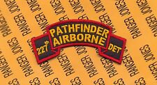 US Army 227th Pathfinder Airborne Detachment Infantry Aviation scroll patch