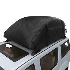 20 Cubic Car Cargo Roof Bag Waterproof Rooftop Luggage Carrier Black 51x39x17''