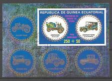 Voitures Guinée Equatoriale (10) bloc oblitéré