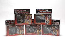 Transformers 5 Dinobots Grimlock Swoop Sludge  Snarl Slar G1 Regalo Gift