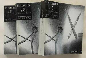 Informix SQL 4.10 Manuals