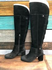 4a1b2621b28f  NEW  Franco Sarto Women s Pava Riding Boot Black Size 5.5M
