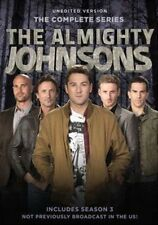 The Almighty Johnsons Season 3 2 1 Series One Two Three 123 Complete R1 DVD