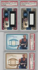 New listing (4) Gilbert Arenas Skybox Corporate Archive TEST PROOF Auto Jersey Lot - PSA