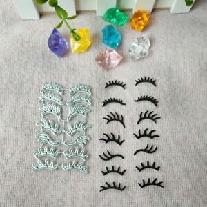 Metal Cutting Die Minitype Eyelash Scrapbooking Paper Card Crafts DIY