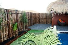 BAMBOO FENCE PANELS,FENCING PANELS 1.8m HIGH x 90cm WIDE x20 was $780