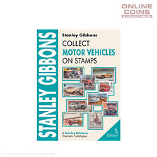Stanley Gibbons Stamp Catalogue Collect Motor Vehicles on Stamps 1st Edition