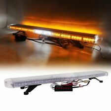 "47"" LED Warning Strobe Light Bar Emergency w/ ALLEY TAKE DOWN Tow Truck Amber"