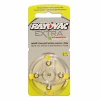 Rayovac Size 10 Hearing Aid Batteries for Hearing Aid (40 Pack)