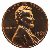 1967 Lincoln Memorial Cent Penny Gem SMS Special Mint Set Mint Coin Uncirculated