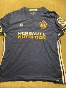 Women's Los Angeles LA Galaxy Adidas jersey XL