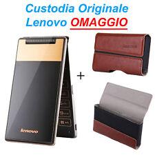 """Lenovo A588T Smartphone Android 4.4 512MB+4GB 4.0"""" Quad Core GPS + COVER OMAGGIO"""