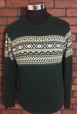 Topman Mens Pull Over Crew Neck Sweater Size L