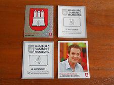 Panini, Just Stick it, Hamburg sammelt Hamburg, Serie 1+2, 10 Sticker aussuchen