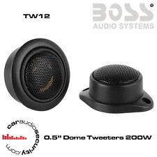 """BOSS Audio TW12 - 0,5 """" 4-ohm TWEETER 200 WATT TWEETER a cupola"""