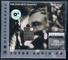 THE STAN GETZ QUARTET PURE GETZ  SACD HYBRID SUPER AUDIO CD F.C. SIGILLATO!!!