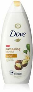 Dove Purely Pampering Body Wash for Dry Skin Shea Butter with Warm Vanilla Ef...