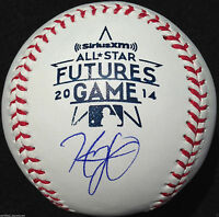 HENRY OWENS SIGNED 2014 FUTURES BASEBALL BOSTON RED SOX AUTOGRAPHED COA J3