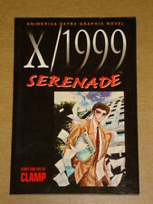 X 1999 SERENADE ANIMERICA GRAPHIC NOVEL CLAMP MANGA GN