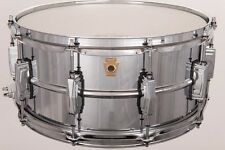 LM402 6.5x14 Supraphonic Snare A-Stock Ludwig Seamless Shell Chrome Imperial Lug