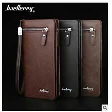 Multifunction High-capacity Handbag Korean Style Casual Men's Leather Wallet