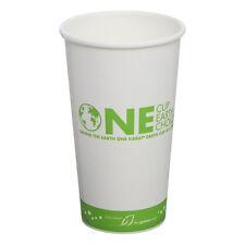 Karat KEK520, 20-Ounce White Hot Cup, 600-Piece Case, Cedar Grove