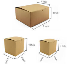 Brown Kraft paper Boxes Packaging Supplies Party Wedding Gift Boxes BULK