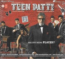 TEEN PATTI - NEW BOLLYWOOD SOUNDTRACK CD - FREE UK POST