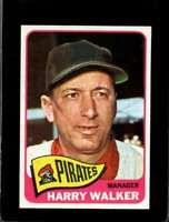 1965 TOPPS #438 HARRY WALKER VGEX PIRATES MG NICELY CENTERED  *XR20838
