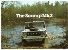 Scamp Mk2 Late 1970s-Early 1980s UK Market Sales Brochure Mini Based Kit car