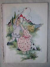 Vintage Print,FAIRY TALE BABES,Famous Fairy Tales,1924