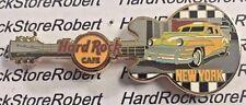 2017 HARD ROCK CAFE NEW YORK CITY VINTAGE 1950'S CHECKER TAXI GUITAR PIN