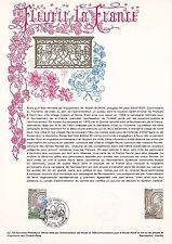 Document Philatélique Timbre  1er Jour : 22/04/ 1978 - Fleurir la France