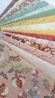 MADAME FLEUR Jera Brandvig Lecien Japanese Cotton Fabrics ~ 16 fat quarters